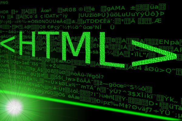 html tags 600x400 - تگ P , Br