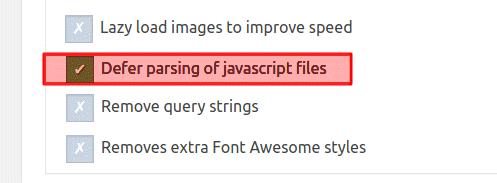 رفع خطا Defer parsing of JavaScript در Gtmetrix وردپرس