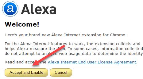 نصب تولبار الکسا در گوگل کروم + آموزش تصویری مرحله به مرحله