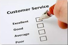 ارائه خدمات به مشتری !