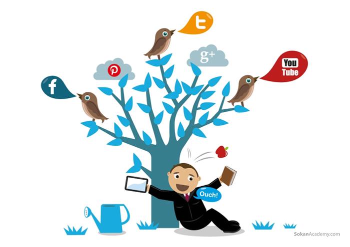 اهمیت شبکه های اجتماعی نسبت به وب سایت های شخصی