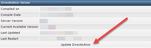 بروز رسانی دایرکت ادمین به آخرین نسخه با چند کلیک در کمتر از چند دقیقه