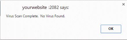 ویروس یابی در سی پنل ، نحوه اسکن وب سایت در چند ثانیه