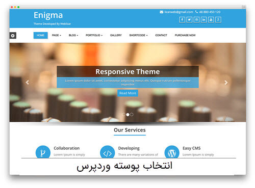 انتخاب پوسته wordpress قسمت دوم