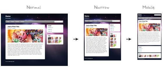 طراحی سایت با طراحی وب واکنشی(طراحی ریسپانسیو) بخش سوم: CSS3 Media Queries