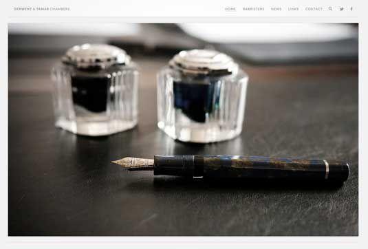 ۲۰ وب سایت که به زیبایی از مینیمالیسم استفاده می کنند(بخش دوم)