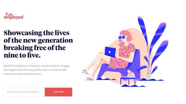 ۱۲ طرح بزرگ طراحی وب سایت در سال ۲۰۱۸(بخش دوم)