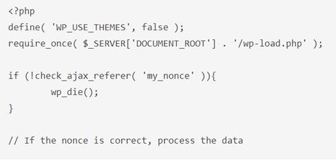 3 - امنیت فرم های AJAX وردپرس با استفاده از nonces