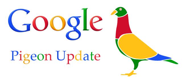 Google Pigeon Update 2 - معرفی الگوریتم های موتور جستجو گوگل