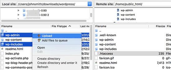 core files - نحوه رفع خطاهای ۵۰۰ و ۵۰۲ در وردپرس