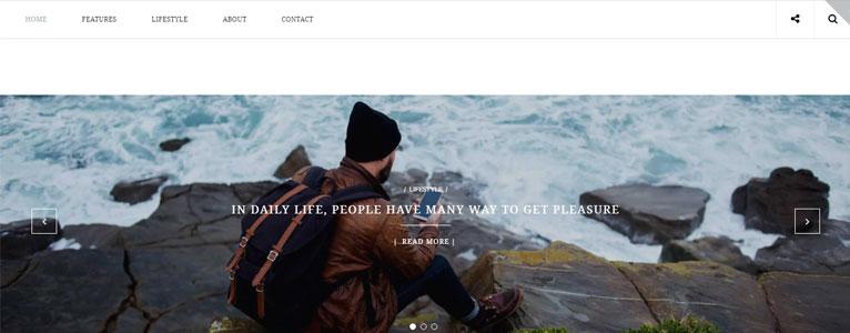 قالب های الهام گرفته از وردپرس برای وبلاگ شما