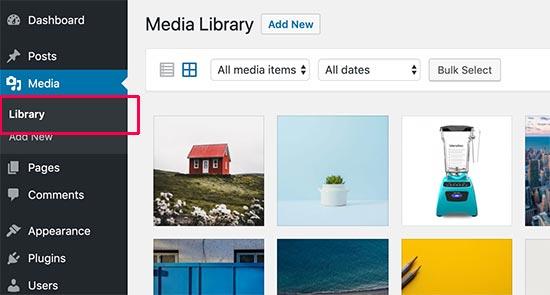 medialibrary - بهینه سازی تصاویر سایت برای موتورهای جستجو